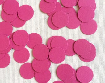 Hot Pink Table Confetti, Decor, Parties, Table Decor