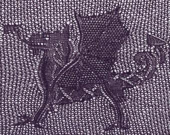 Cedric, The Celtic Dragon (PDF pattern)