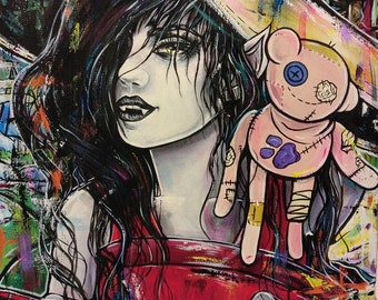 Marceline Adventure Time  - Archival Fine Art Print 11x14 Art