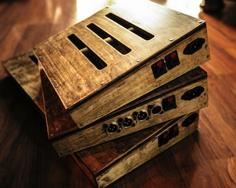 custom sized guitar pedal boards - bodeche x lookwright