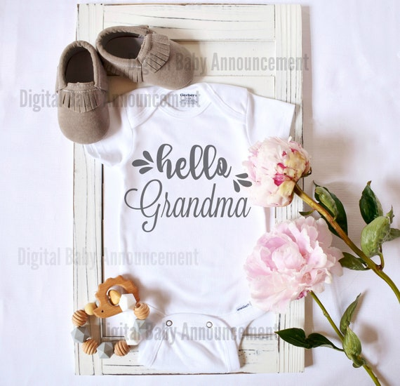 Social Media Baby Announcement / Facebook / Instagram / Instant Download / digital prints announcement / pregnancy reveal