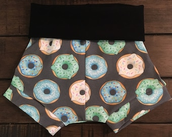 Donuts, moslty blue, Shorties