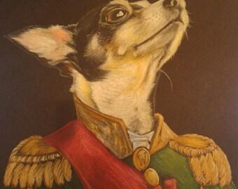Custom Pet Portrait -  Art