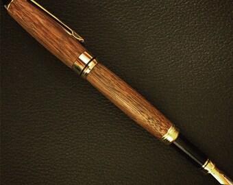 Walnut Fountain Pen Pen Fountain pen writing accesory