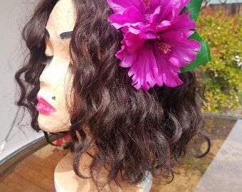 Purple Hawaiian Flower