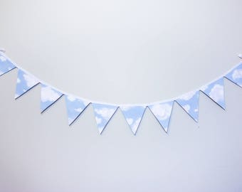 Cloudy Dream Sky ~ Dream bunting ~