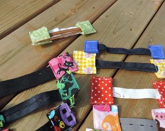 dpn wip stopper for sock knitting dnp needle holder