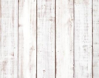 White Washed Wood Backdrop