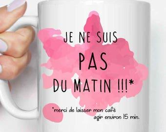 "Mug ""I'm not morning!"""