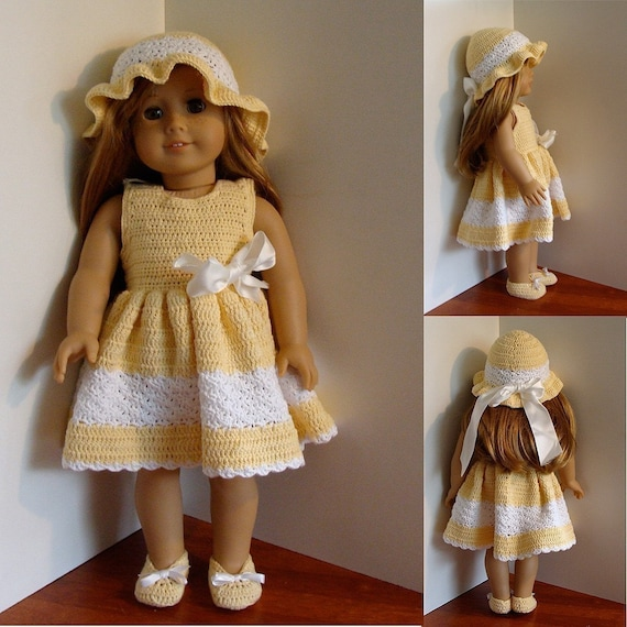 Sundress and Hat Crochet Pattern
