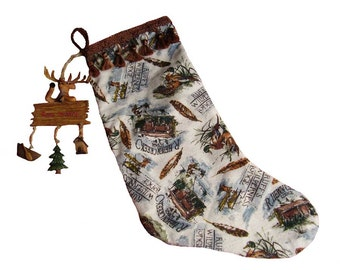 Hunter's Christmas Stocking, Man's Christmas Stocking, Sportsman' s Christmas Stocking