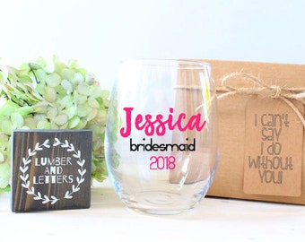 Bridesmaid Proposal - Maid of Honor Gift - Will You Be My Maid of Honor - Maid of Honor Proposal - Gift for Maid of Honor - Bridesmaid Gift