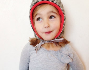 Wee Wool Bonnet for Baby, Toddler and Kids - Made to Order