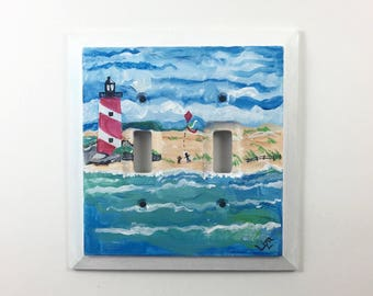 Kite Double Switch Plate Cover