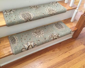 Authentic Wool Willowbrook TRUE Bullnose™ Carpet Stair Tread ...
