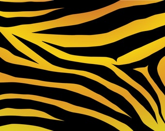 Large Tiger Print 8 x 10 Edible Image Frosting Sheet