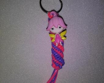 Pink Fairy Keychain