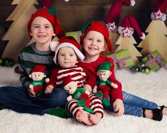Personalized Elf, Personalized Elf Plush, Elf Gifts, Personalized Christmas Gift, Personalised Elf, Stocking Stuffer, Christmas Decorations