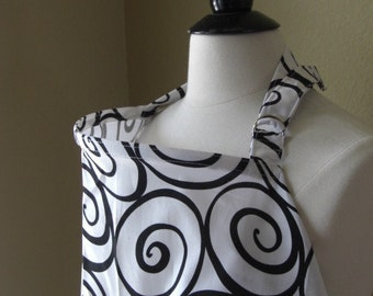 Ready To Ship-Beautiful Nursing Cover-Ironwork- FREE SHIPPING when purchased with a wrap