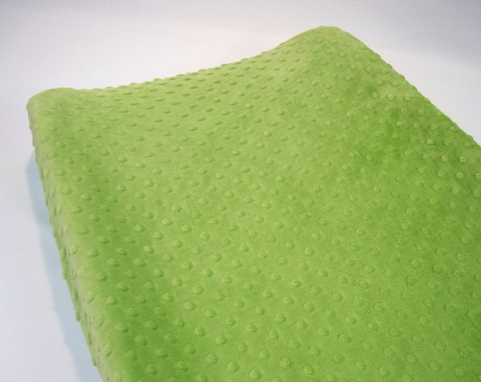 Green Changing Pad Cover Jade