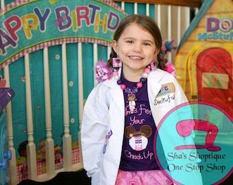 Doc McStuffin Personalized Lab Coat