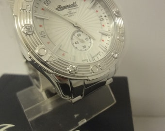 Gent's  Ingersoll Gem's Marine watch in pristine condition with makers box IG0703MA