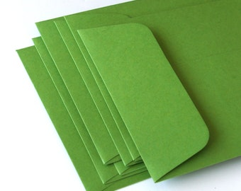 "Open End Business Envelopes . Number 10 Size (4 1/8"" x 9 1/2"") in Clover Green"
