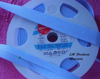 Blue bias layette, crayon 2108, size: 20/9.5/9.5mm