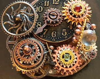 CAROUSEL OF TIME Steampunk Sculpture