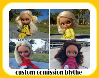 Custom Comission Blythe Doll