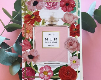 No 1 Mum Greeting Card
