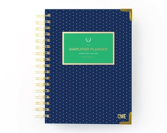 Monogram Decal for Planners, Emily Ley, Simplified Planner, Day Designer, Erin Condren, Planner Stickers, Planner Accessories, Best Seller