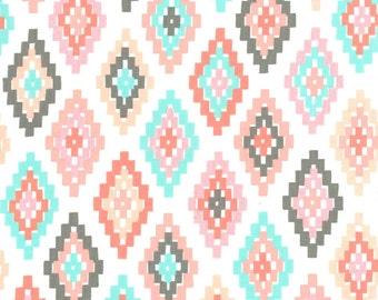 Blush Diamond Native American Fabric-Arrow Flight-Michael Miller-Tribal Fabric-Geometric Fabric-Southwestern Quilting Fabric-Quilt Fabric