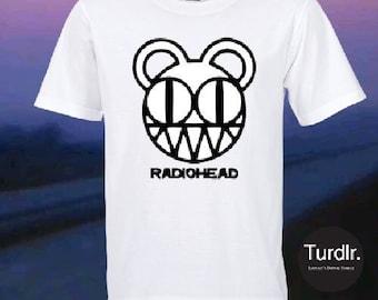 Radiohead Logo T-shirt/Radiohead band Logo T-Shirt