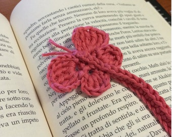 Crochet butterfly bookmark pattern pdf butterfly applique