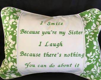Sister Pillow