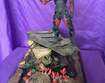 Mass Effect diorama