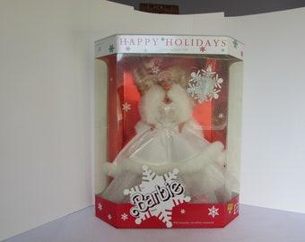 1989 Happy Holiday Barbie Doll