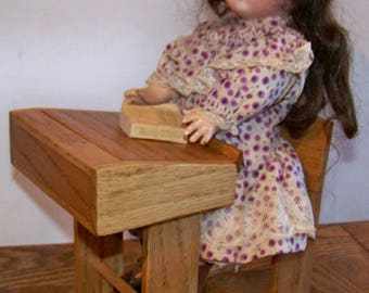 Reproduction Vintage French Doll School Desk