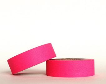 Neon Pink Washi Tape