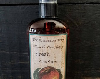 Fresh Peach room and linen spray ~ Scents of Summer