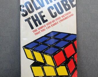 Vintage Rubik's Cube Book 1981