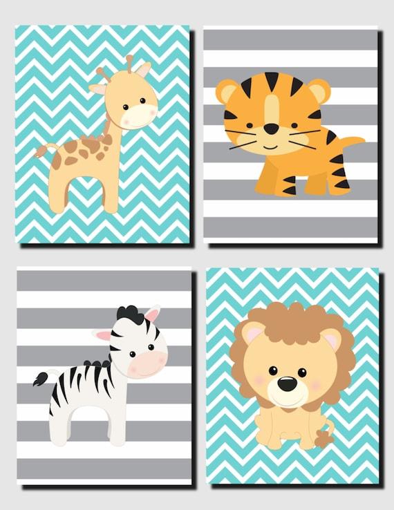 Bebé niña vivero arte bebé niño vivero Decor arte de la pared