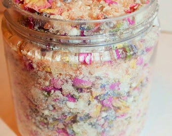 Coconut Milk and Pink Himalayan Salt Bath Soak