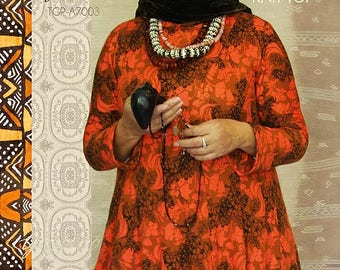 JULIANA by Tina Givens - knit top pattern