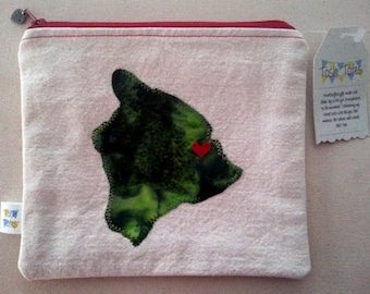 Customizable Hilo Love Zippered Pouch