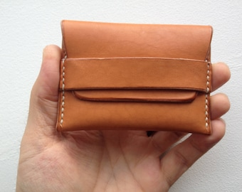 Leather card Case Hand made