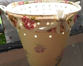 Planter, tidy, old roses, Shabby chic