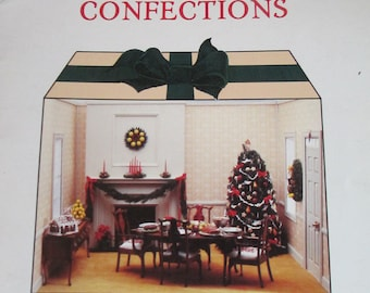 """DIY Vintage """" Christmas Confections""""  by Nancy Ranney 18 pages used  1982 Nutshell News"""