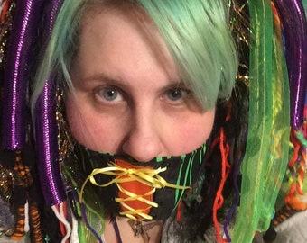 Circus gag, Surgical mask, cosplay mask, circus cosplay, bdsm gag, custom gag